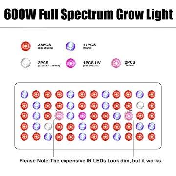 phlizon led grow light
